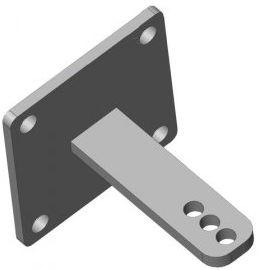 Torpfostenbeschlag 50/104 Standard
