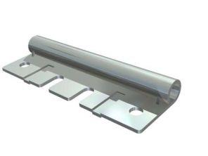 Federpuffer L=500 mm c rh