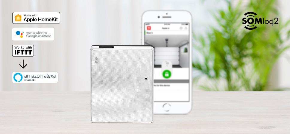Smart Home Lösung für Torantrieb
